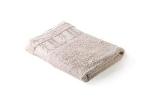 Махровое полотенце Бамбук Классик бежевый