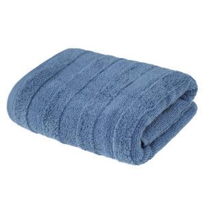Махровое полотенце Авеню Серо-Голубой (Blue)