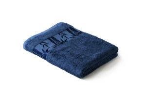Махровое полотенце Бамбук Классик Синий (True Navy)