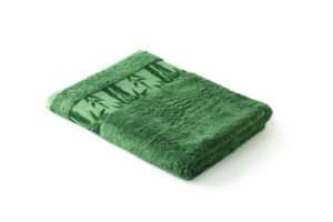 Махровое полотенце Бамбук Классик Зеленый (Turf Green)