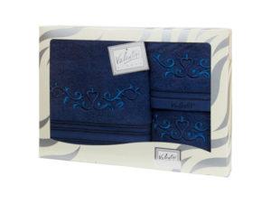 Махровые банные полотенца с вышивкой Valentini арт.10031 1189 (Португалия)