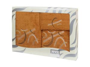 Махровые банные полотенца с вышивкой Valentini арт.80701 1133 (Португалия)