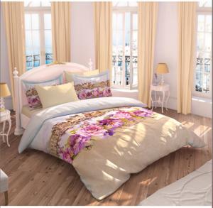 Комплект постельного белья Ozdilek Art Collection Fleur Cream евро