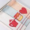 Салфетки махровые с вышивкой TEA LOVE 30*50 см