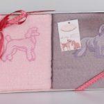Салфетки вафельные с вышивкой Ruby V4 40*60 см