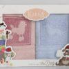 Салфетки махровые с вышивкой Lokie V1 30*50 см