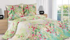 Комплект постельного белья поплин Манон 2,0 на резинке
