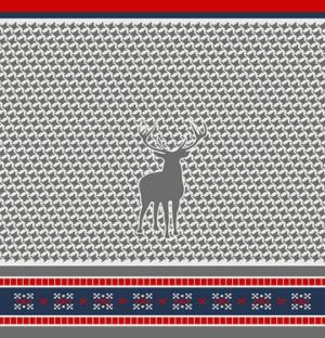 Плед Paters Cotton Северный олень