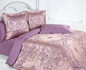 Комплект постельного белья сатин-жакккард Аметист