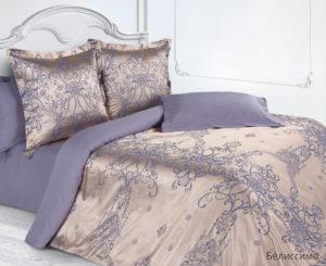 Комплект постельного белья сатин-жакккард Белиссимо