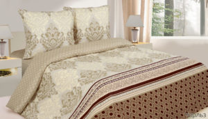 Комплект постельного белья поплин Чарльз Дуэт