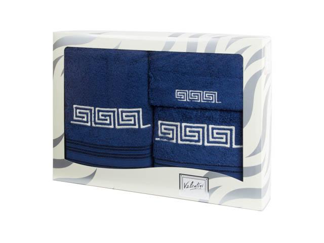 Махровые банные полотенца с вышивкой Valentini FASHION 2 1189 (Португалия)