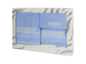 Махровые банные полотенца с вышивкой Valentini FASHION 2 2139 (Португалия)