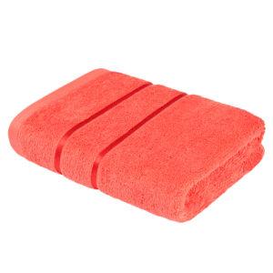 Махровое полотенце Египетский хлопок Коралловый (Fusion Coral)