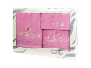 Махровые банные полотенца с вышивкой Valentini арт.Fantasy 2131 (Португалия)