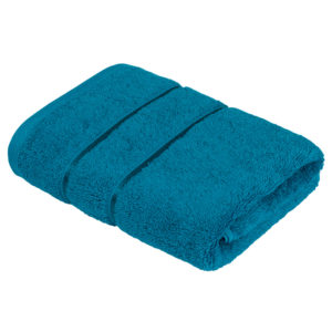 Махровое полотенце Египетский хлопок Морская Волна (Enamel Blue)