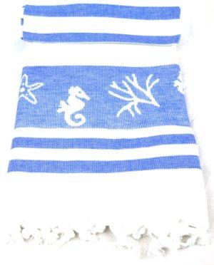 Полотенце СПА Coral Темно-синий арт. 53636