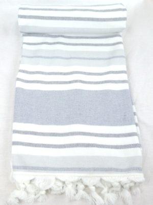 Полотенце СПА Stripe Серый арт. 53605