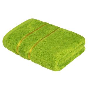 Махровое полотенце Египетский хлопок Салатовый (Lime Green)