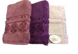 Махровое полотенце Cestepe Orient пудра