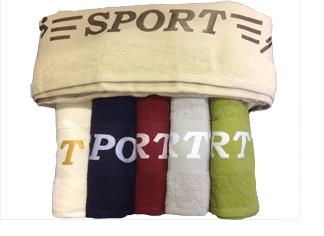 Махровое полотенце Sport бежевый