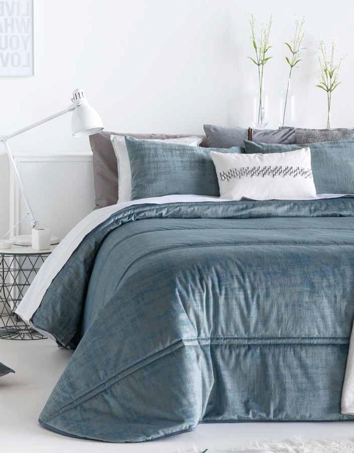 Покрывало + 2 подушки на кровать Antilo Baker Azul