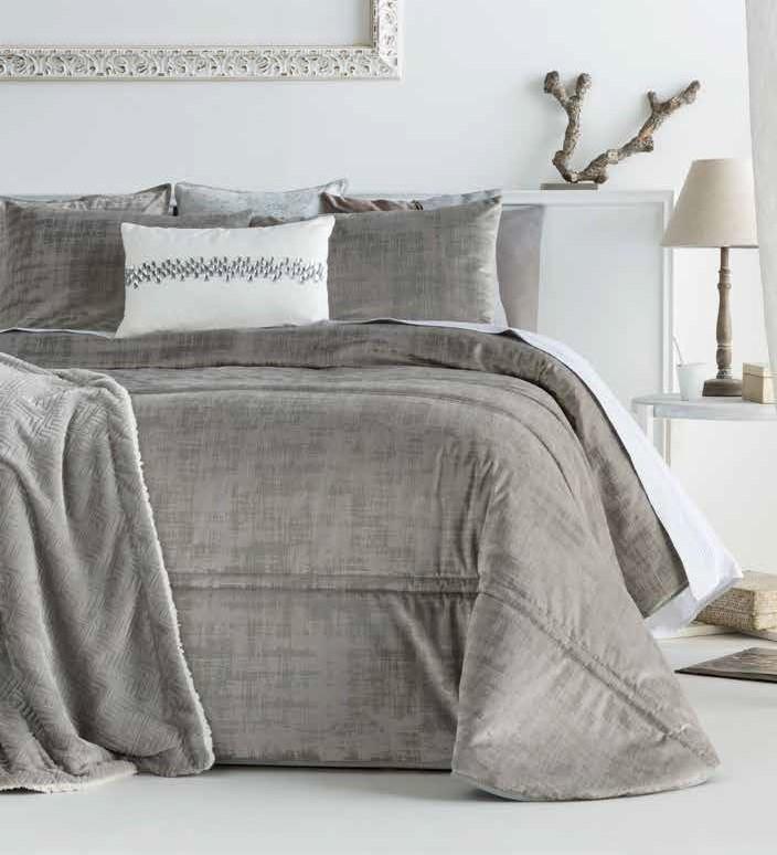 Покрывало + 2 наволочки (подушки) на кровать Antilo Baker Beige 270*270