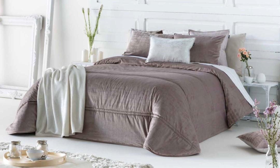Покрывало + 2 наволочки (подушки) на кровать Antilo Baker Malva