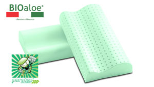 Ортопедическая подушка Bioaloe Cervicale 60 60*10/11