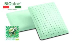 Ортопедическая подушка Bioaloe Francia 40*30*8
