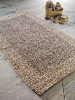 Коврик для ванной комнаты Confetti Cotton Natura Heav бежевый 60*100 см