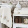 Комплект махровых полотенец Devon кремовый