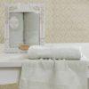 Комплект махровых полотенец Lauren кремовый