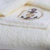 Набор для сауны мужской PAMIR махровый синий