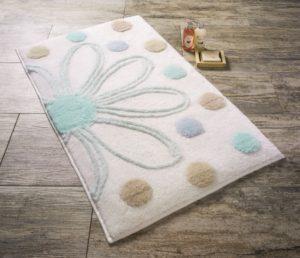 Набор ковриков для ванной комнаты Confetti Bella Alinda мятный