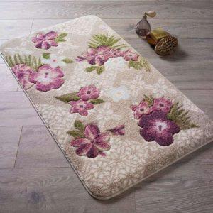 Коврик для ванной комнаты Confetti Bella Tropical розовый 50*57 см