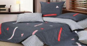 Комплект постельного белья сатин Ecotex  Орсе