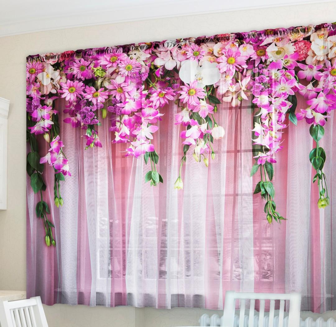 что красивые фото шторы ламбрекен из цветов обновления придали машине