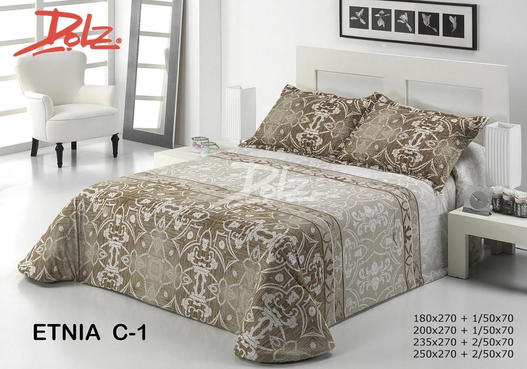 Покрывало на кровать Dolz (Испания) Etnia C1 Beige