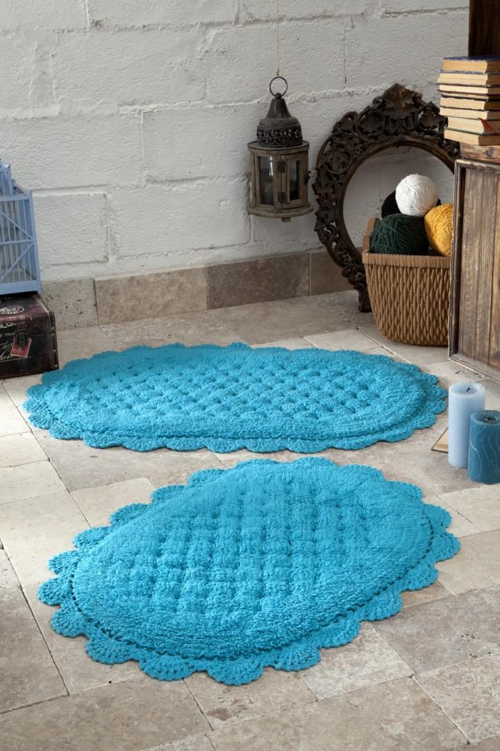 Набор ковриков Merit бирюзовый