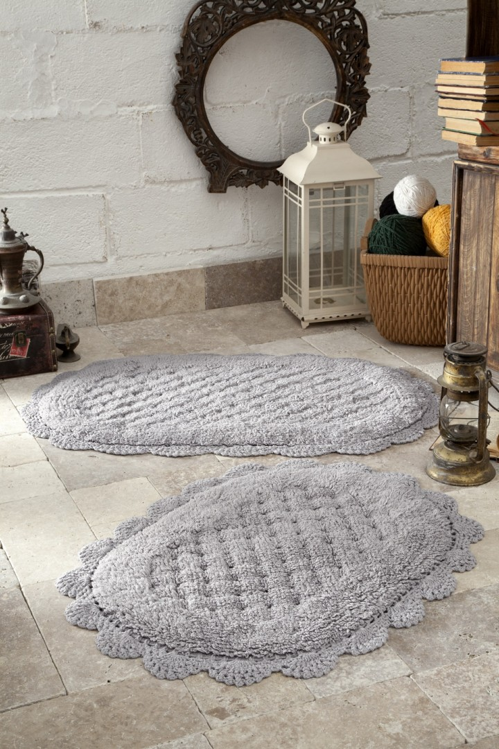 Набор ковриков Merit серый