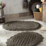 Набор ковриков Merit темно-коричневый