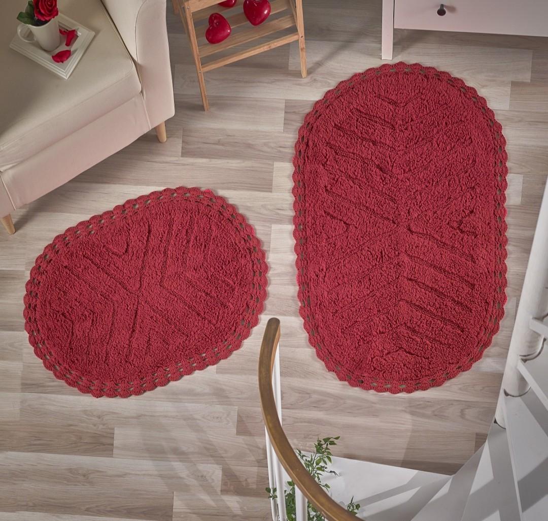Набор ковриков Cross красный