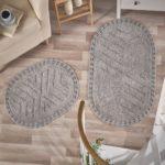 Набор ковриков Cross серый