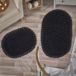 Набор ковриков Cross черный