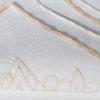 Скатерть  с вышивкой Arda 160*220 см пудра
