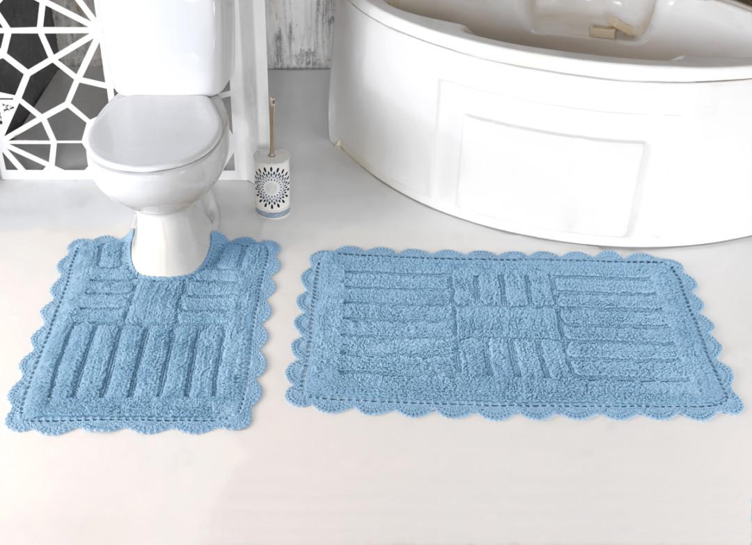Набор ковриков Ancor светло-голубой