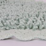 Набор ковриков с люрексом Dual капучино