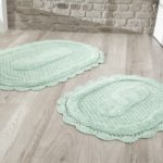 Набор ковриков Lokal кремовый