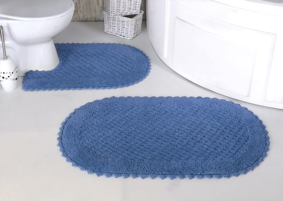 Набор ковриков Prior голубой